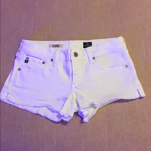 Adriano GoldSchmied AG the Daisy shorts white 26